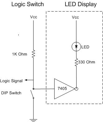 Or Gate From Nand Gates Circuit in addition Circuit Diagram Of Calculator Using Logic Gates as well O Thz further Not Gate Debounced Switch Circuit moreover Spyo. on how to build or gate circuit on breadboard